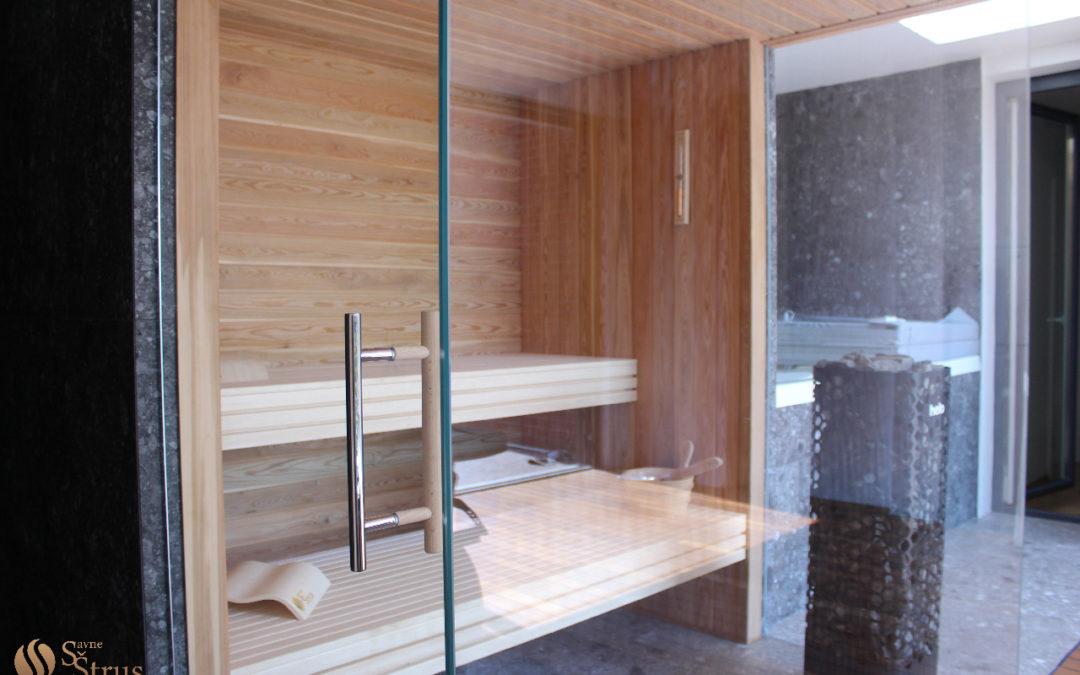 Kućni spa s finskom/bio saunom