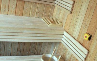 Finska sauna u spa centru