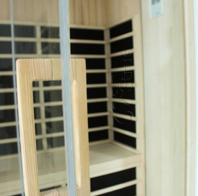 Infracrvena sauna u glavnoj kupaonici obiteljske kuće