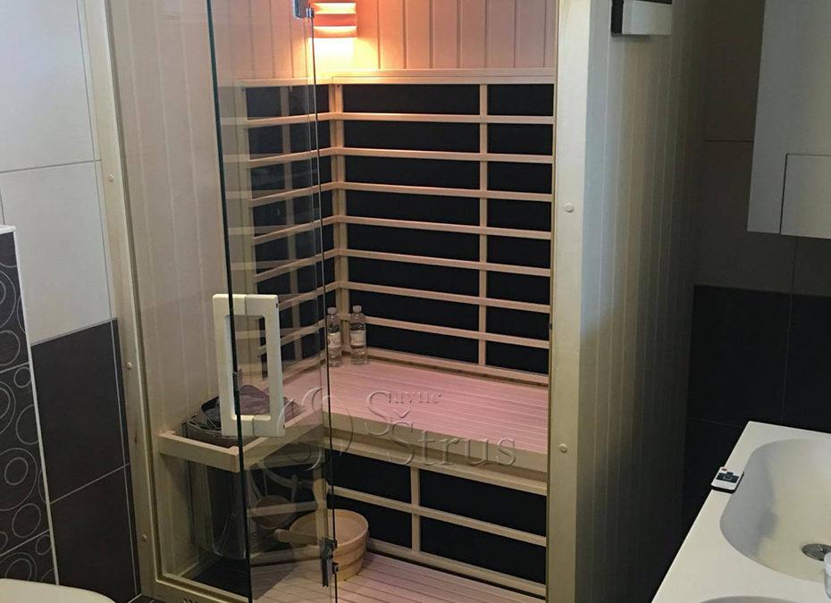 Nadogradnja kupaonice kombiniranom saunom