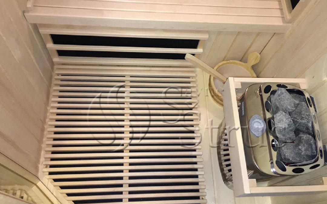 Mala, ali učinkovita sauna po mjeri