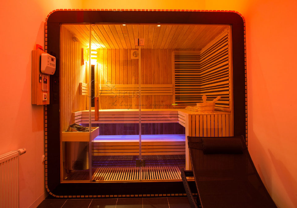 Kombinirana sauna Round u kozmetičkom salonu