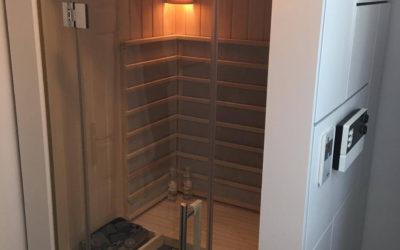 Kombinacija tri saune u COLORINI