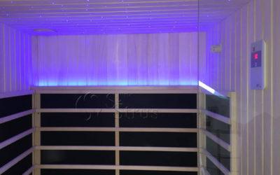 Infracrvena sauna s kromoterapijom