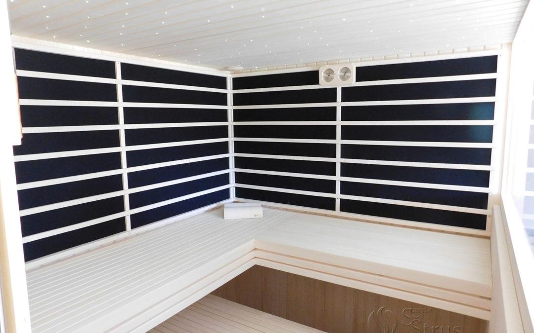 Kombinirana privatna sauna u wellness centru Opatija