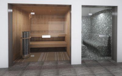 Turska i finska sauna u kućnom wellnessu