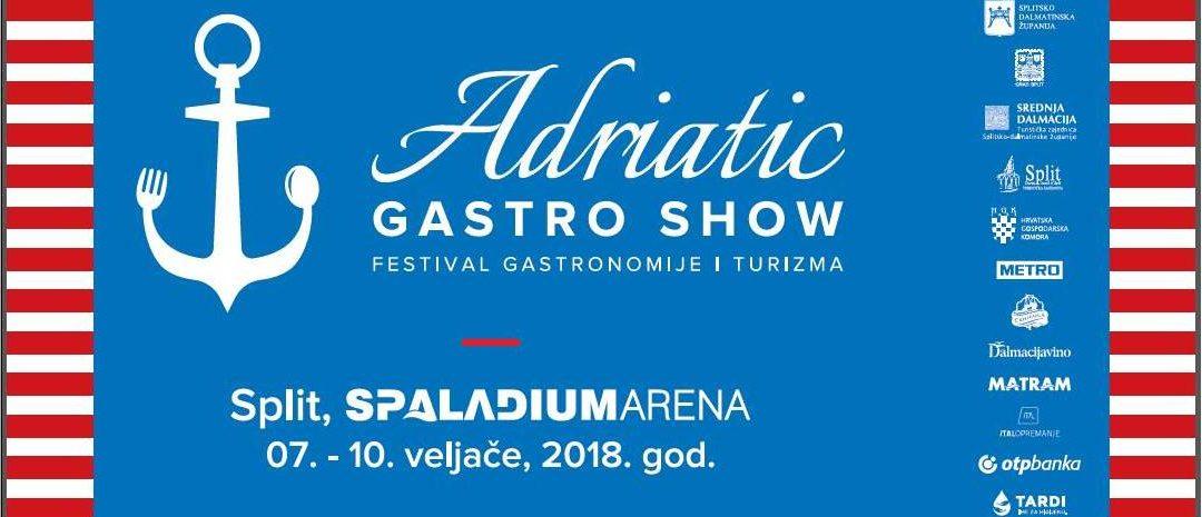 Armstark  i Adria Hotel Service vas pozivaju na festival gastronomije i turizma Adriatic Gastro Show
